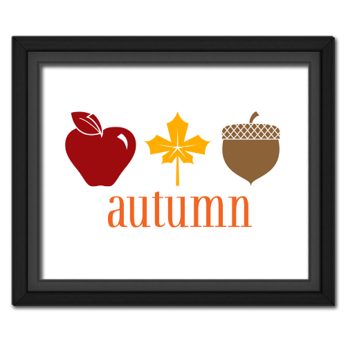 Autumn Trio Poster
