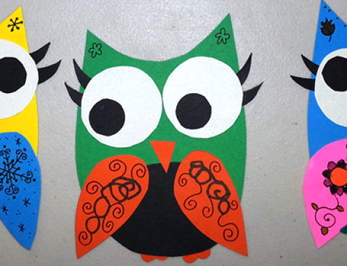 An Owl Invasion + Free Owl Craft