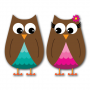 Owls Version 1 Clip Art