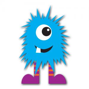 Blue Monster Clip Art (Free Download!)