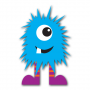 Blue Monster Clip Art (Free Download!)