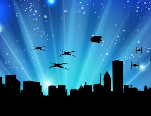 Chicago Skyline Star Wars Style + Free Download