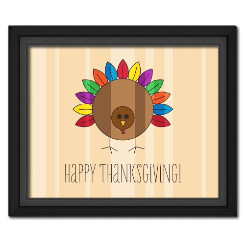 Happy Thanksgiving Turkey Picture Free Download! #freebie #thanksgiving