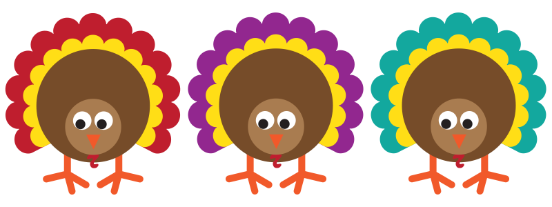It's Turkey Time + Free Turkey Craft