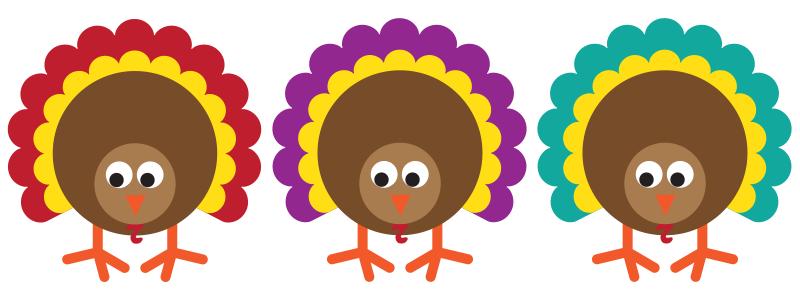 It's Turkey Time + Free Turkey Craft