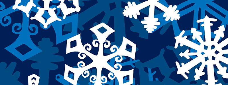 Dainty, Little Snowflakes + Free Snowflake Craft