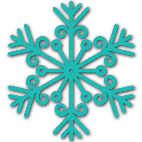 Free Snowflake Craft ** Free Printable Download **