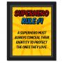 Superhero Rule 1 Poster #superhero
