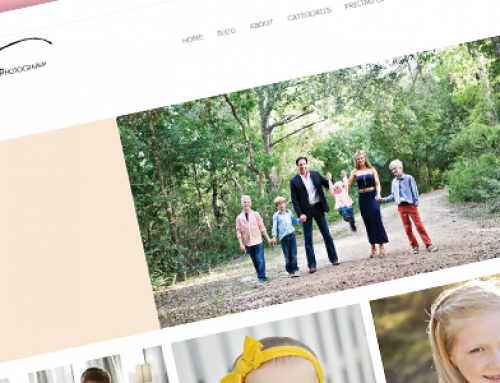 Latest Projects: Three Peas Photography Website
