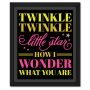 Twinkle Twinkle Quote Picture
