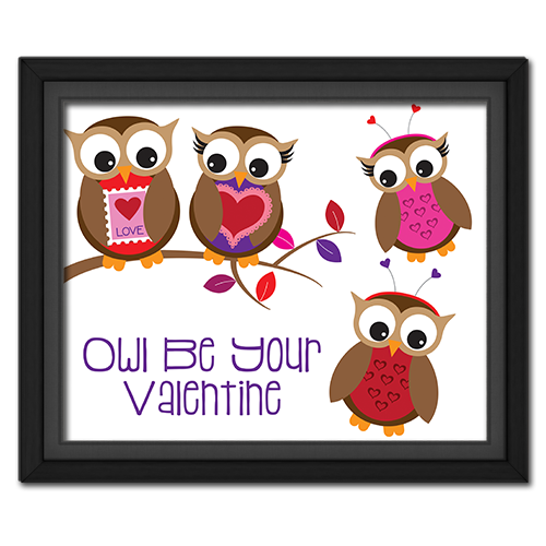 Owl Be Your Valentine Picture