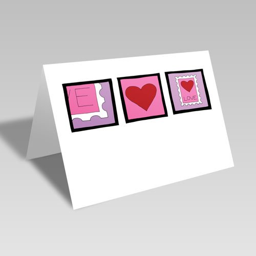 February Stamp Card