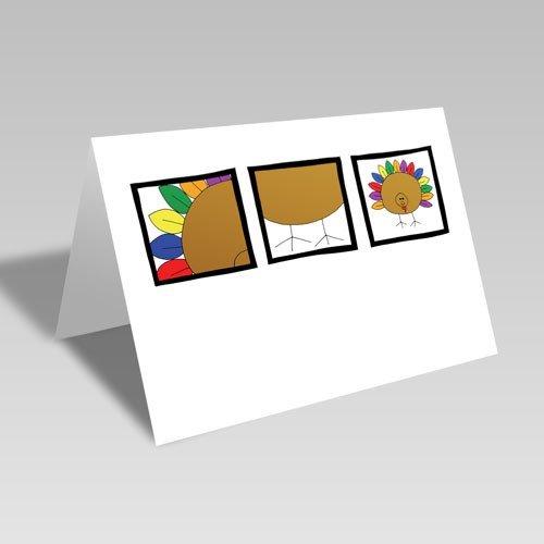 November Turkey Card