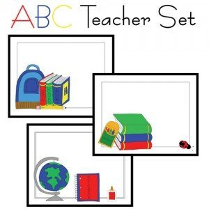 ABC Teacher Card Set