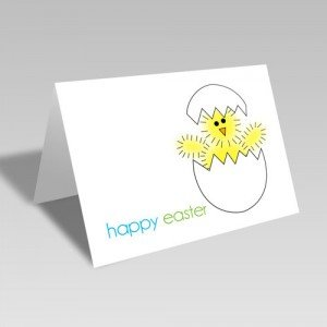 Hatching Chick Card
