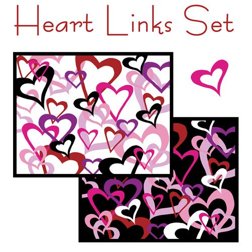 Heart Links Card Set