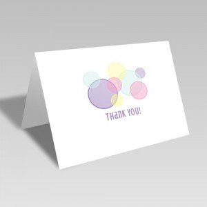 Playtime Thank You Card