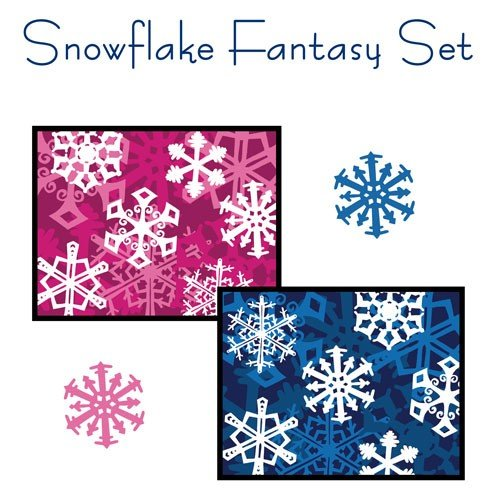 Snowflake Fantasy Card Set