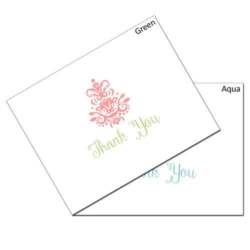 Thank You Brocade Card Set
