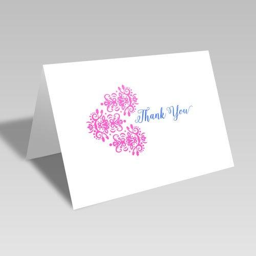 Thank You Brocade Trio Card