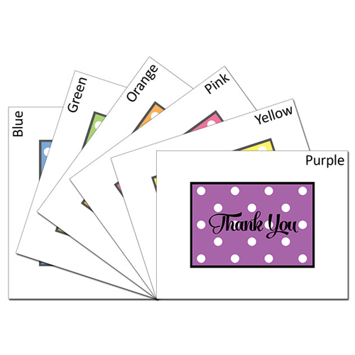 Thank You Dots Card Set