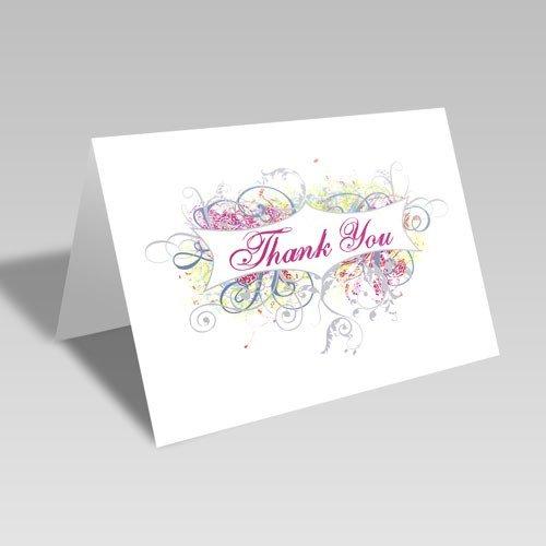 Thank You Elegant Grunge Card