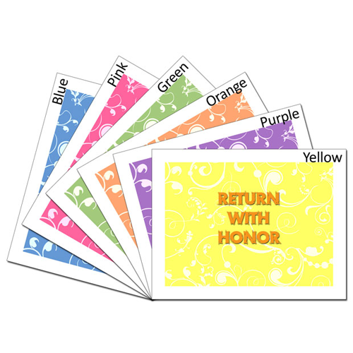 Return With Honor Card - Set #lds #missionary