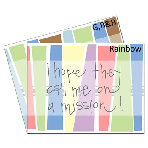 Call Me on a Mission Card - Set #lds #missionary