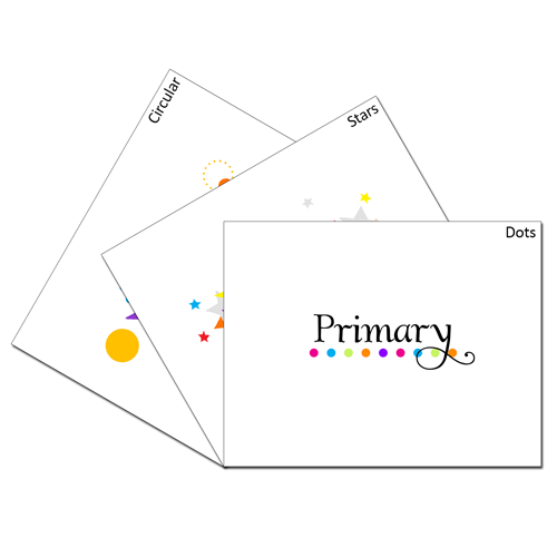 Primary Card Set #ldsprimary