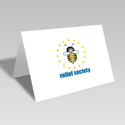 Relief Society Circular Bee Card #lds #reliefsociety