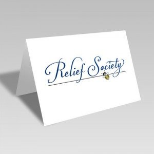 Relief Society Bee Line Card #lds #reliefsociety