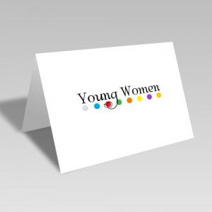 Young Women Dots Card #lds #youngwomen