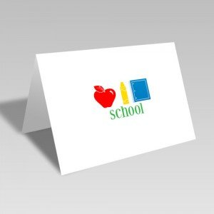 School Trio Card