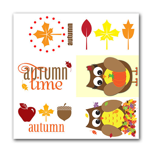 Autumn Gift Tags