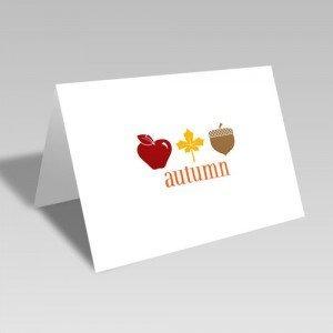 Autumn Trio Card