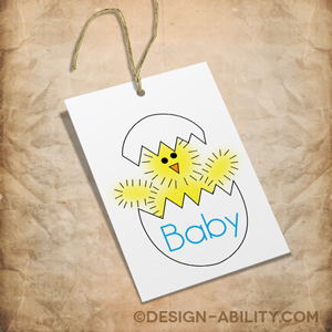 Baby Gift Tags Set 2