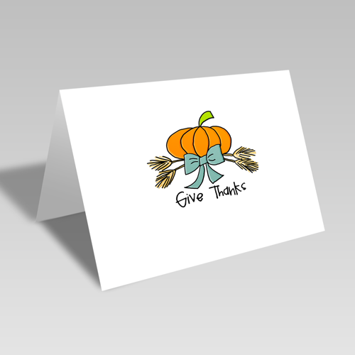 Give Thanks Harvest Card