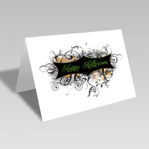 Halloween Grunge Card