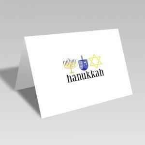 Hanukkah Trio Card