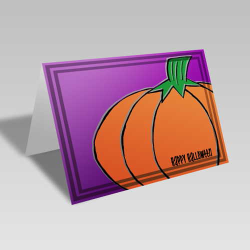 Pumpkin Passion Card
