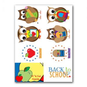 School Gift Tags