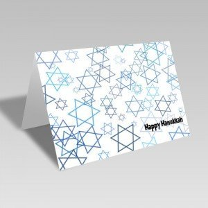 Star of David Scatter Card