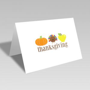 Thanksgiving Trio Card