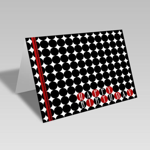 Birthday Checkers Card
