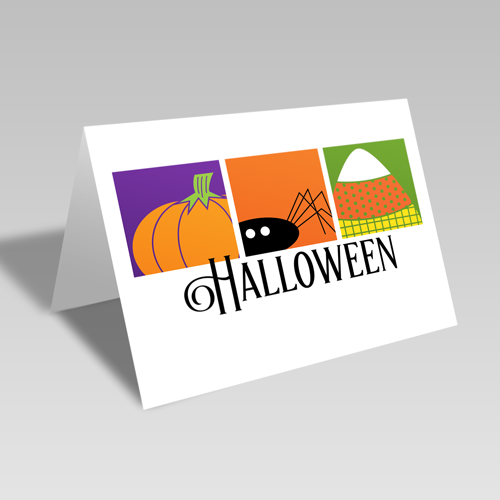 Boxed Halloween Card