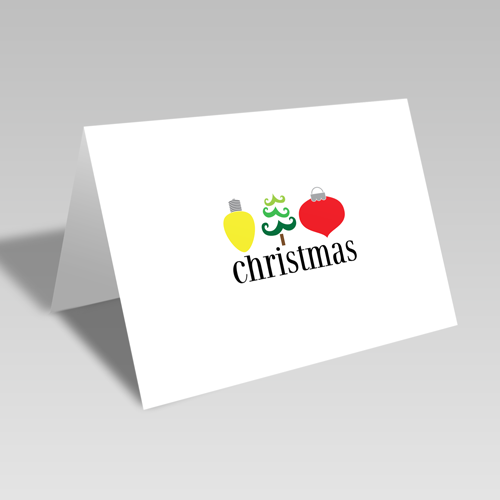 Christmas Trio Card