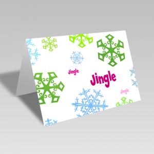 Jingle Snow Card