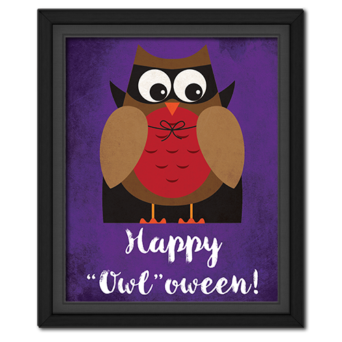 """Happy """"Owl""""oween Picture: Vampire"""