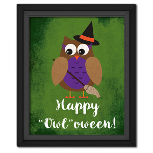 "Happy ""Owl""oween Picture: Witch"
