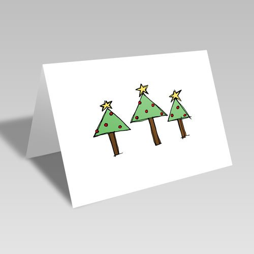 Tree Trio Card